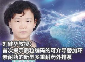 刘健华教授:首次揭示质粒编码的可介导替加环素耐药的新型多重耐药外排泵